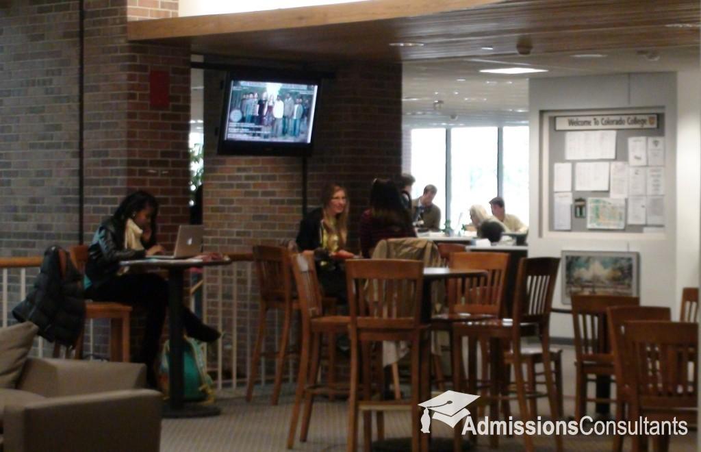 Colorado College indoors