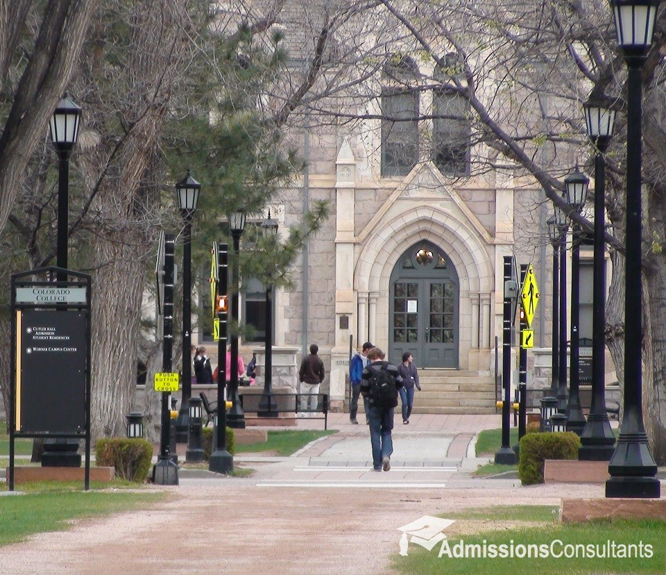 Colorado College Admissions Profile, Graphs And Analysis
